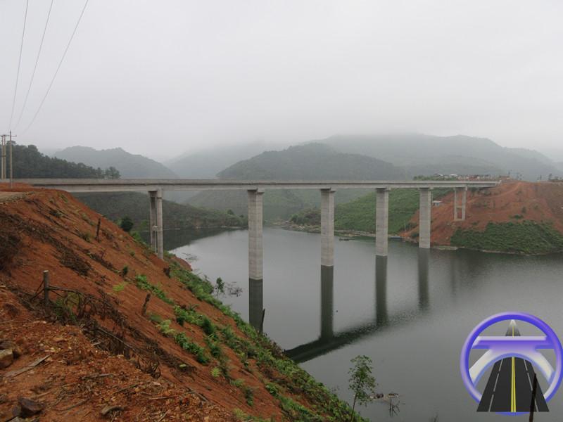 涔天河水库扩建道路复建工程第1标务江大桥工程
